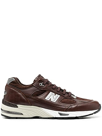 New Balance Leather Sneakers − Sale: up