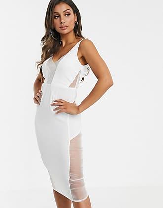 Ivyrevel – Vit enaxlad klänning med utskurna detaljer   ASOS