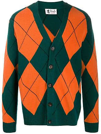 Pringle Of Scotland Cardigan de tricô Reissued Argyle - Verde