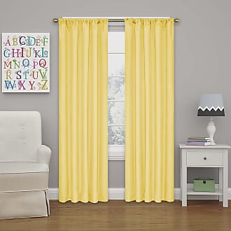 Summit Medallion 40 x 95 Thermal Insulated Single Panel Rod Pocket Light Blocking Curtains for Living Room Aqua ECLIPSE DraftStopper Room Darkening Curtains for Bedroom