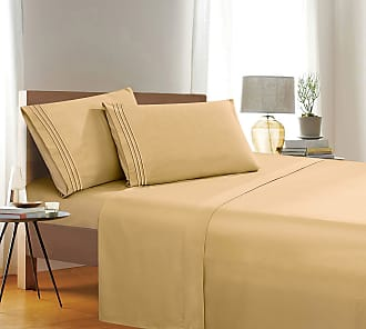 Aqua Premium Hotel Quality Extra Deep Pocket 18-21 inch Single Fitted Sheet for High Mattress Luxury /& Softest 1500 Thread Count Egyptian Quality Smart Pocket Twin//Twin XL Wrinkle Resistant