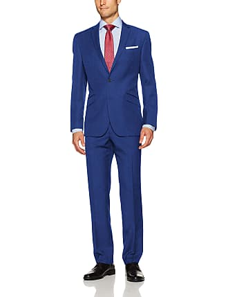 Kenneth Cole Unlisted Mens Stretch Chambray Suit
