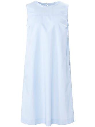 Mit schlitz blaues langes kleid Blaues Kleid