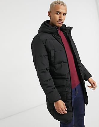 Jack Jones Mens Black//Navy Jacket Short Parka Style  Size M Medium New £40