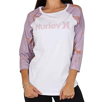 Hurley Camiseta Manga Longa Hurley Raglan O&o Decay - Branca - G
