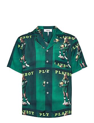 Dr.Denim Kortermet skjorte Kai City Shirt Grønn Klær