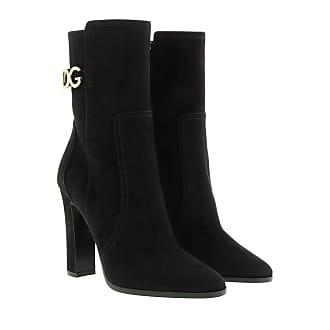 Black Jacquard boots   Dolce & Gabbana   Enkellaarsjes