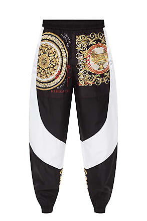 Versace Collection Men/'s Black Fleece Track Sweat Pants Size S L XL 2XL