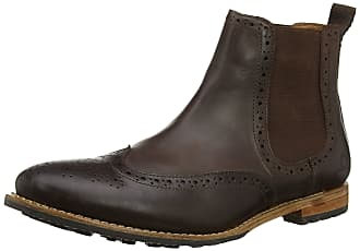 Chatham Chirk Mens Dark Tan Chelsea Boots 8 UK