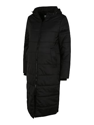 NUOVO Donna Trapuntato Imbottito Puffy Puffer Lungo cappotto Parka Cappuccio foderato in pelliccia sintetica