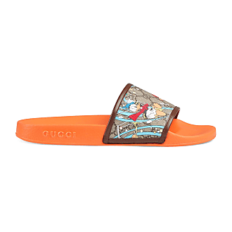 Gucci Mens Disney x Gucci Donald Duck slide sandal