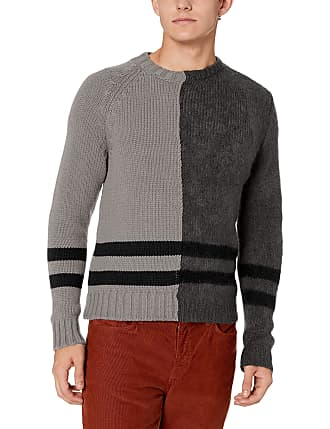 French Connection Mens Mohair Cable Mix