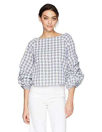 New With Tags Ruffle Neck Button Down Blouse White J.O.A