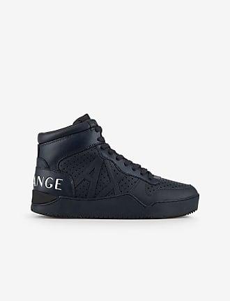 A X Armani Exchange Armani Exchange Sneakers Blu Navy Bovino, Poliestere