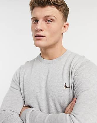 Jack Wills Alfie col Polo pull homme neuf de la marque taille M bleu marine