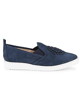 Karl Lagerfeld Cyra Suede Platform Loafers