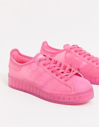 adidas Originals Superstar Jelly sneakers in semi solar pink-Purple