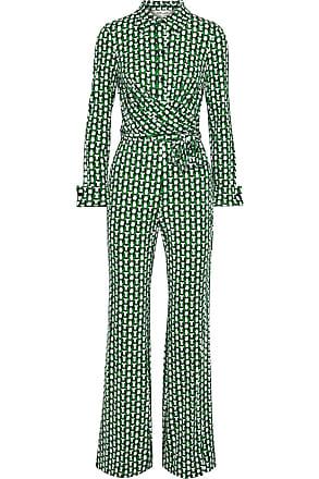 Irregular Diane von Furstenberg Silk Jumpsuit