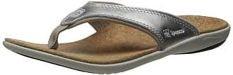 Spenco Womens Yumi Metallic Sandal