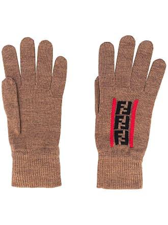 Fendi Zucca logo gloves - Neutro