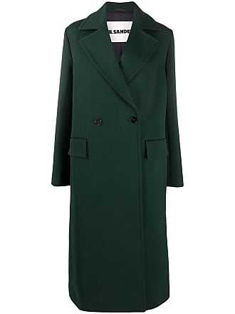 ON SALE 15/% JIL Sander Kahki Green Trench Coat Size S-M