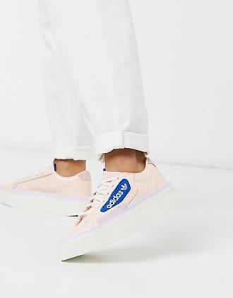 adidas Originals Hyper Sleek platform sneakers in pink