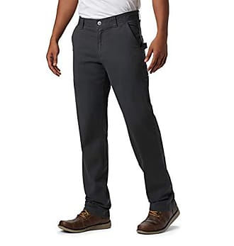 46x32 Black Water /& Stain Resistant Columbia Mens Ultimate ROC Flex Pant