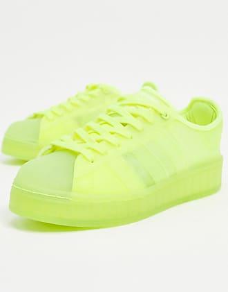 adidas Originals Superstar Jelly sneakers in solar yellow