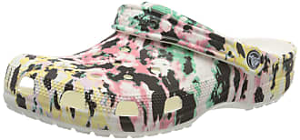 Comfortable Slip on Casual Water Shoe Crocs Mens and Womens Classic Tie Dye Clog