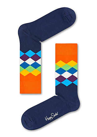 Happy Socks Womens 80S Fade Socks With Multicolor Pattern