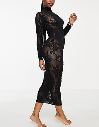 Ann Summers Britney Sheer Black Lace Mesh Dress 8//14 Small//Medium NWOT FREE POST