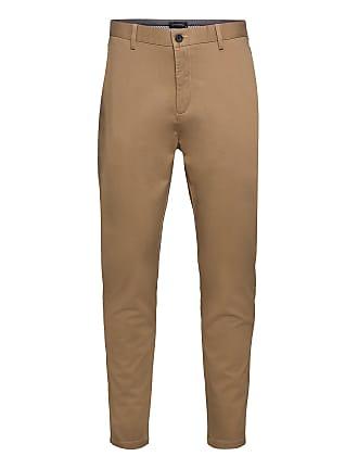Brown Milano Jersey Pants  Clean Cut  Chinos - Herreklær er billig