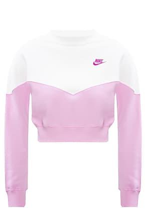 Womens Nicce Mini Oval Pink Sweatshirt SA33 RRP £44.99
