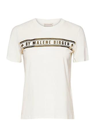 Hvit  Alloi T-Shirt  By Malene Birger  T-Skjorter - Dameklær er billig