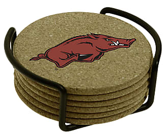 Thirstystone University of Arkansas with Holder Included Cork Gift Set