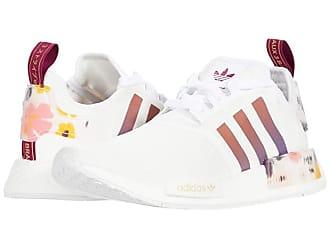adidas Originals NMD_R1 W (Footwear White/Power Berry/Gold Metallic) Womens Shoes