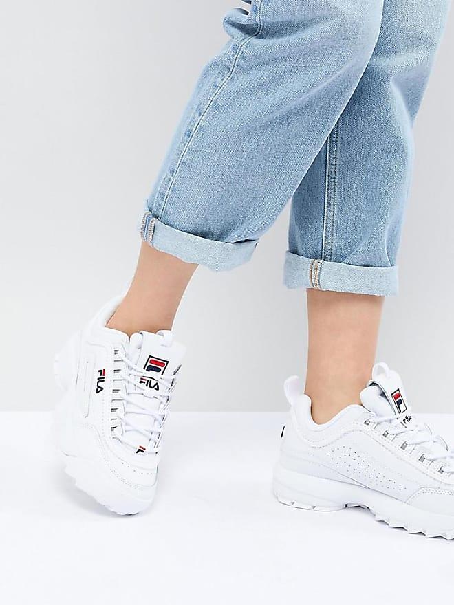 scarpe fila alte argento