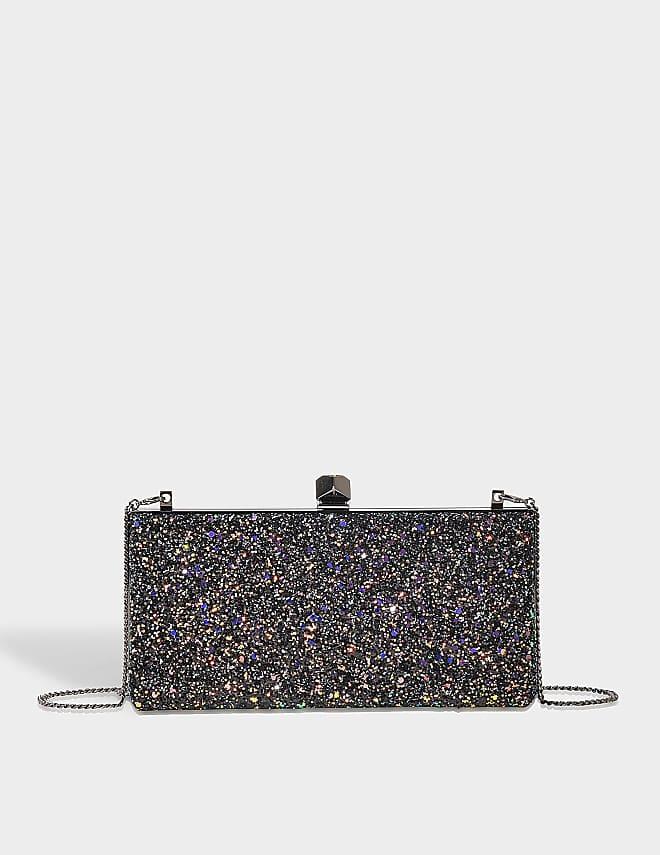 Celeste S clutch in glitter